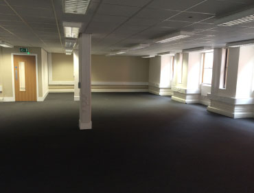 empty office roon